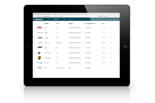shipping software- all carrier types